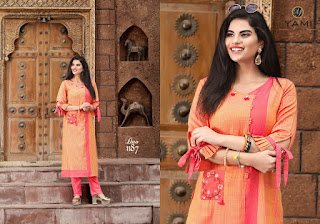 Yami fashion culture cotton kurtis
