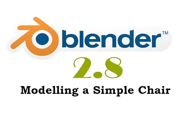 simple chair modelling in Blender 2.8 beginner
