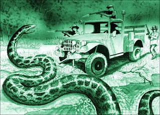 Anaconda raksasa legenda: benar atau salah?