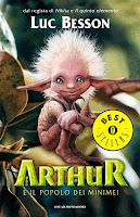 Risultati immagini per arthur e il popolo dei minimei copertina libro