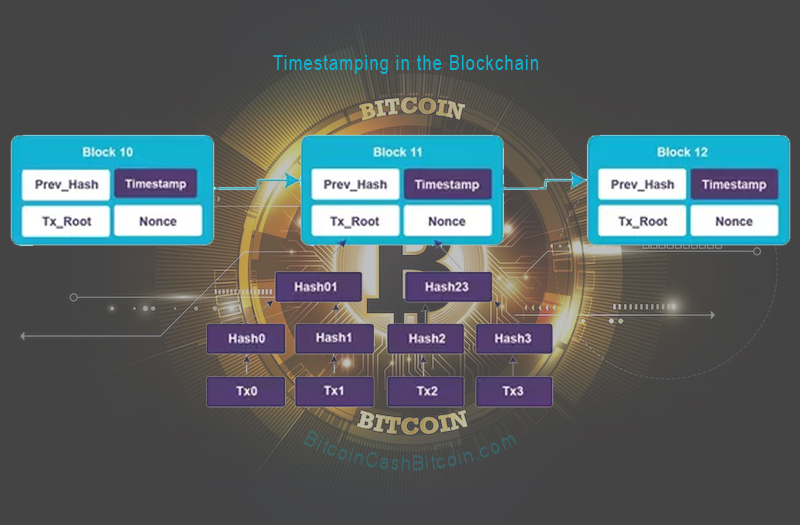 bitcoin timestamp server