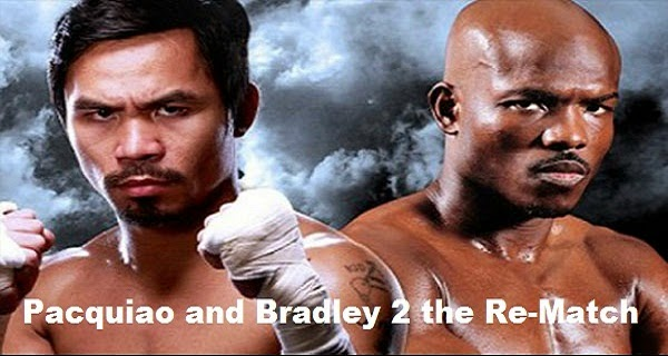 Pacquiao and Bradley 2 the Re-Match