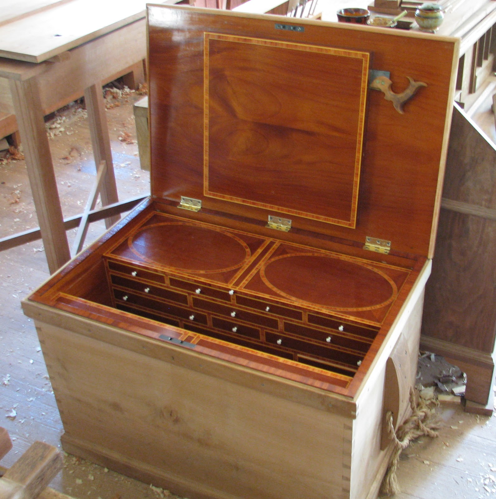 The Village Carpenter Tool Chest Of Benjamin Seaton