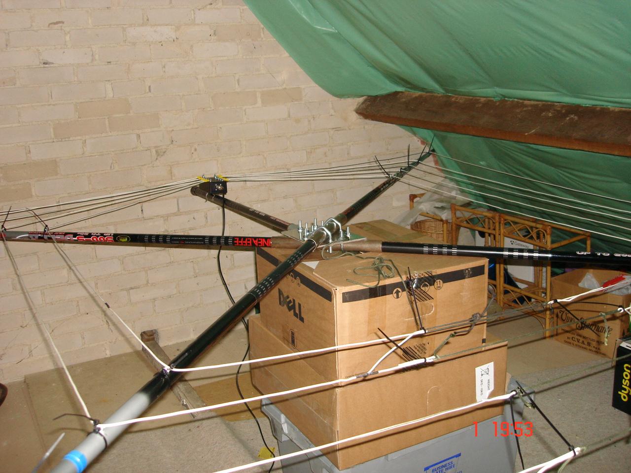 The Morse Sagas Cobweb Antennas