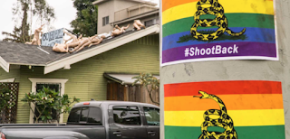West Hollywood Inundated With AMAZING Pro-Gun, Pro-Gay Posters