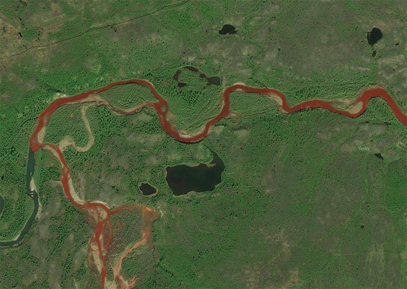 End of the world? Here is why river suddenly turned red in Russia