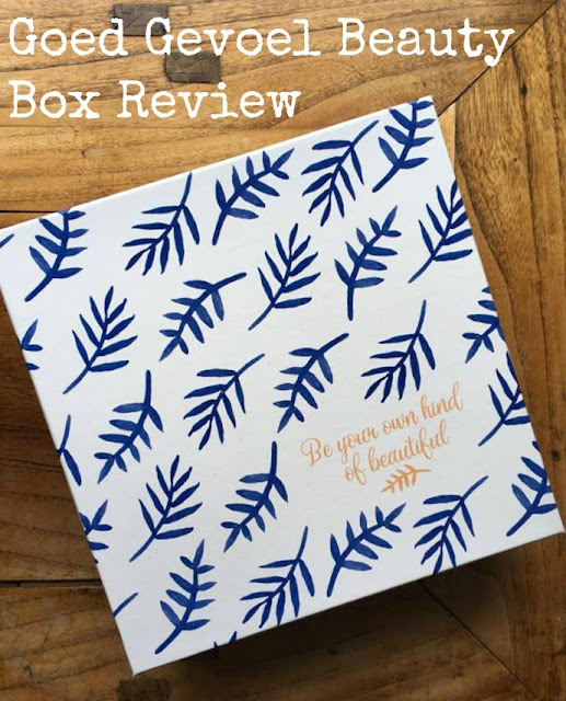 Goed Gevoel Beauty Box April 2017 Review