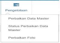 Terdiri dari Perbaikan Data Master, Foto, dan Status