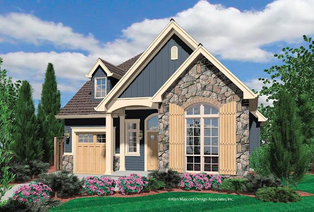 35 House Photos With Stone Clad Design