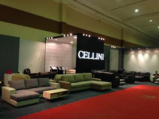 kontraktor pameran BOOTH CELLINI FURNITURE EXPO
