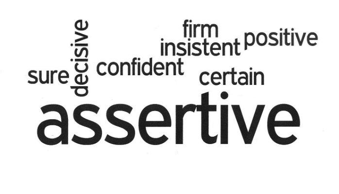 being assertive good