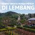 Tempat wisata murah meriah di Lembang