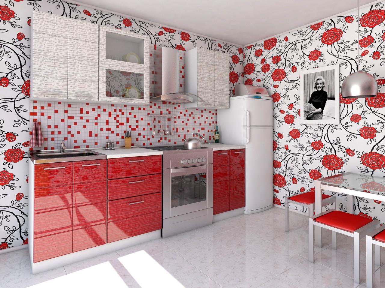 Red Tiles Design For Kitchen Rumah Joglo Limasan Work