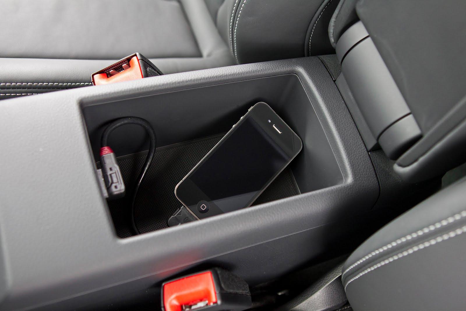 Voiture communicante: Une Phone Box dans l'Audi A3