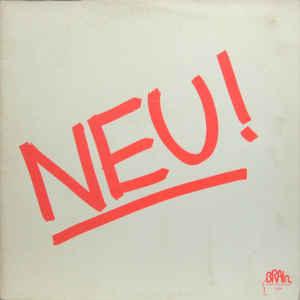 Portada de disco Neu! - Neu!. 1972.