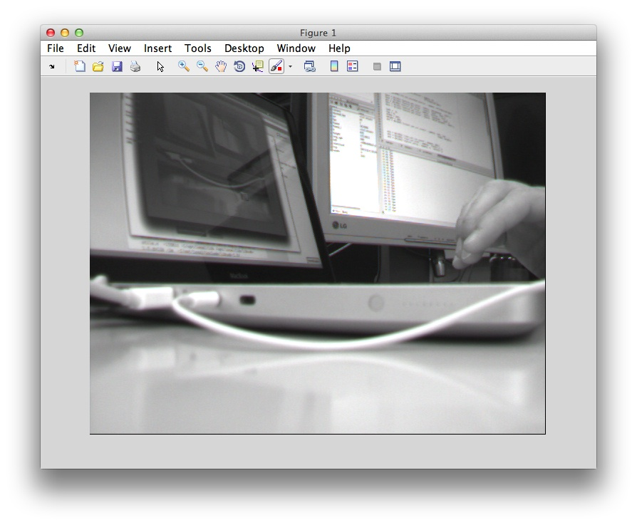how to use a firefly mv camera with matlab on macos x
