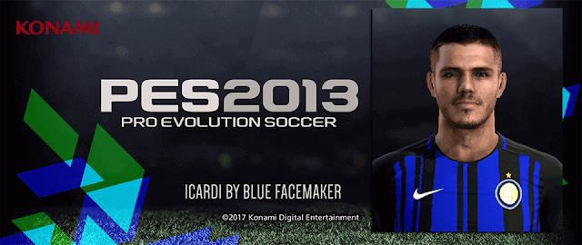 PES 2013 ICARDI FACE BY BLUE FM