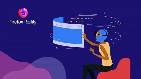 موزيلا تطلق متصفح Firefox Reality VR