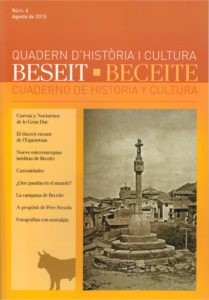 CUADERNO DE HISTORIA Y CULTURA, BECEITE Nº 6