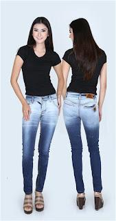 Celana jeans wanita model terbaru 2016
