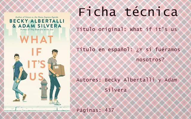 "Reseña: ""What if it's us"""