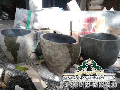 Jual Wastafel Batu Alam, Pengrajin Batu Alam