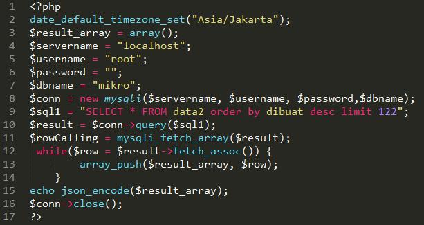 Arduino : Database MySQL + Ethernet Shield ENC28J60