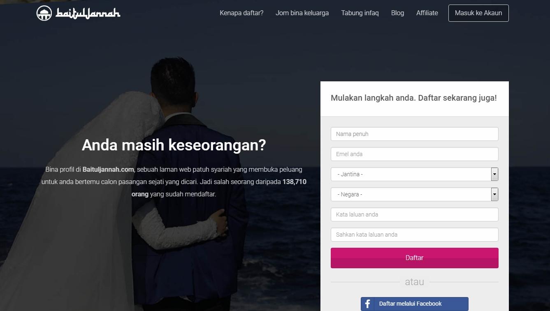 laman web baituljannha