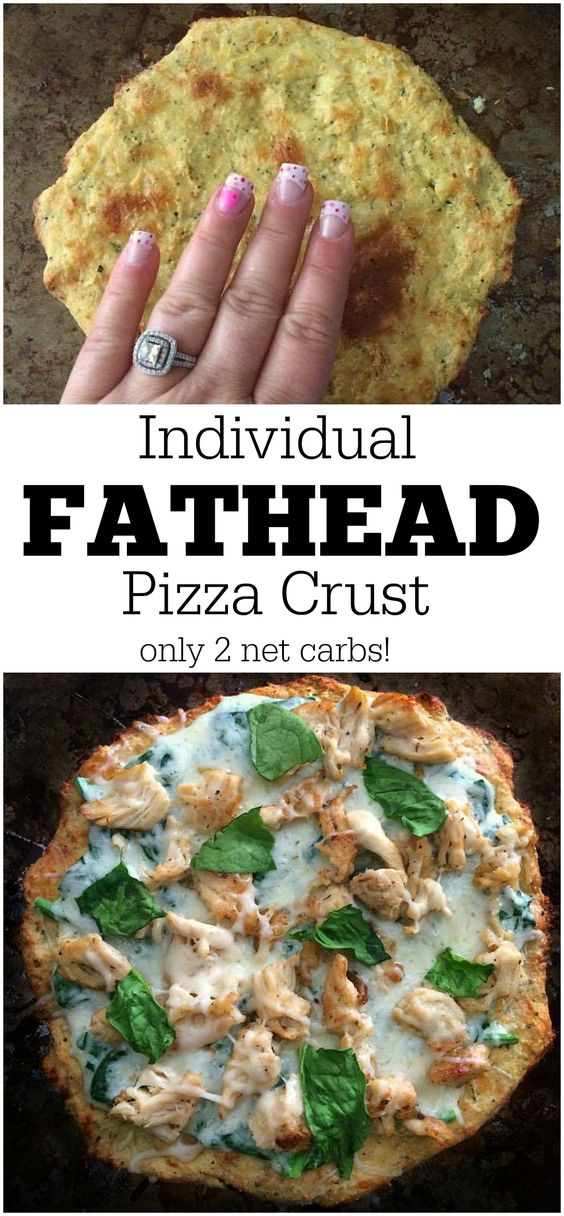 FATHEAD PIZZA DOUGH RECIPE