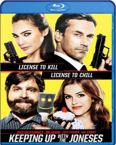 Keeping Up with the Joneses [2016] [BD25] [Latino]