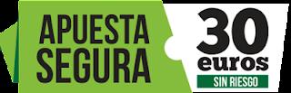 Promocion 30 euros Apuesta Segura Paf - dos apuestas seguras en una