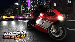 لعبة Racing Fever Moto V.1.2.7 اموال غير محدودة! كاملة للاندرويد