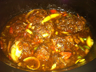 Easy Recipes With A Touch Of Jamaica Jamaican Oxtail Stew Crockpot And Pressure Cooker Recipes