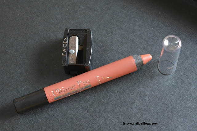 Faces Ultime Pro Matte Lip Crayon Review