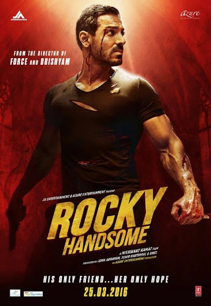 Poster Of Rocky Handsome 2016 720p Hindi HDRip Full Movie Download