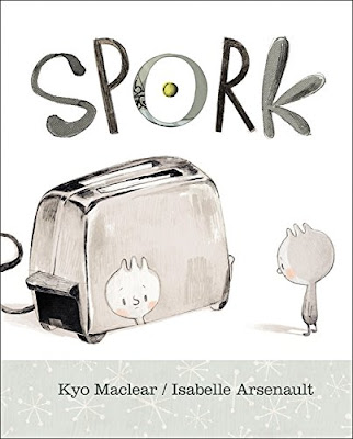 Spork is a great picture book for teaching about how differences can be strengths. While you might not feel like you fit into any one group, especially if you're bi-cutlery like Spork, you do have a place and a purpose. A great conversation starter for kids!