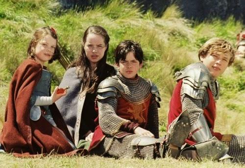 4 hermanos de Narnia