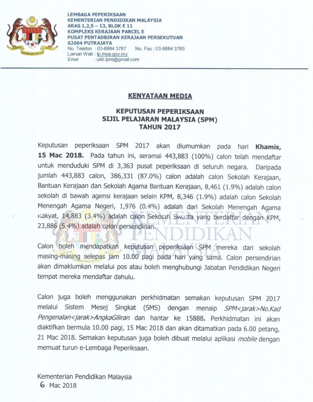 30+ Sijil Pelajaran Malaysia Contoh Sijil Spm