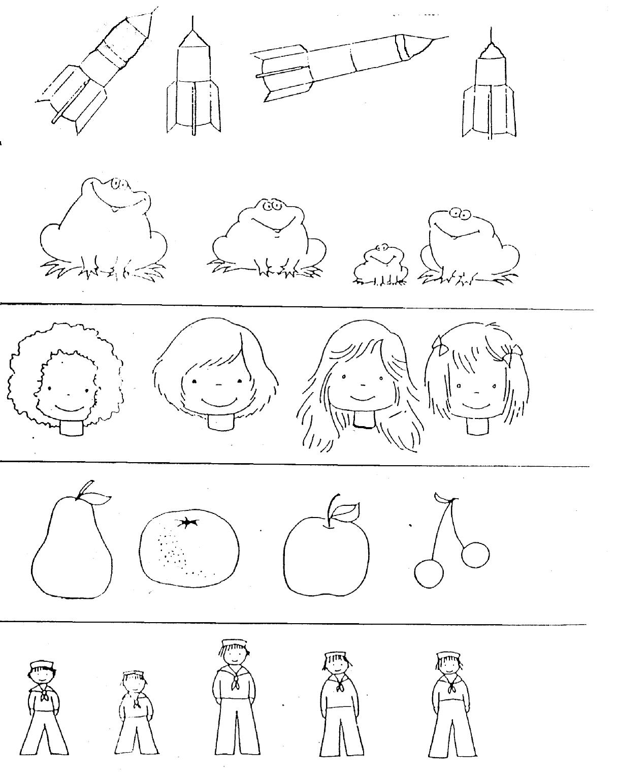 nociones basicas coloring pages