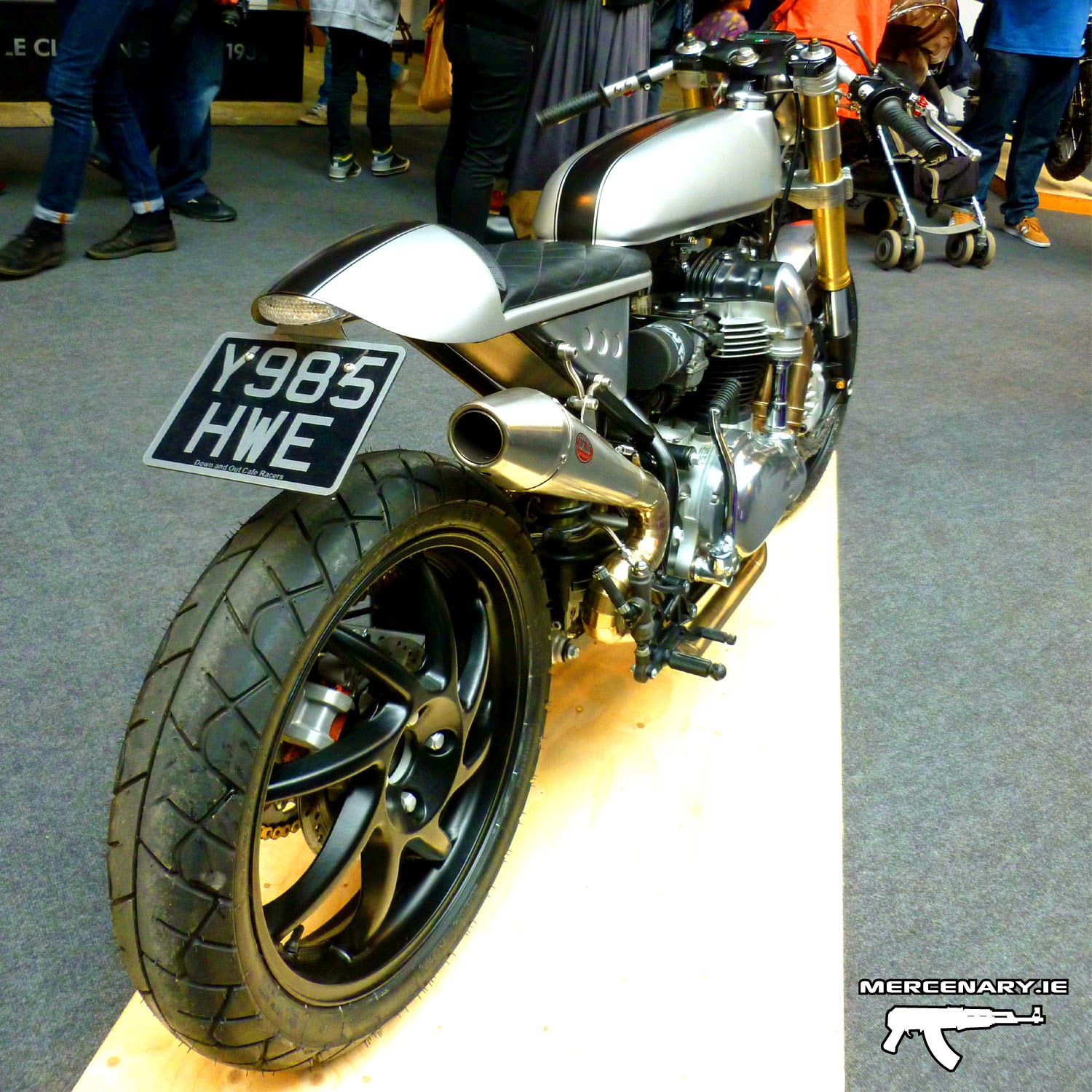 BSMC III - Down And Out Cafe Racers W650 Misfit