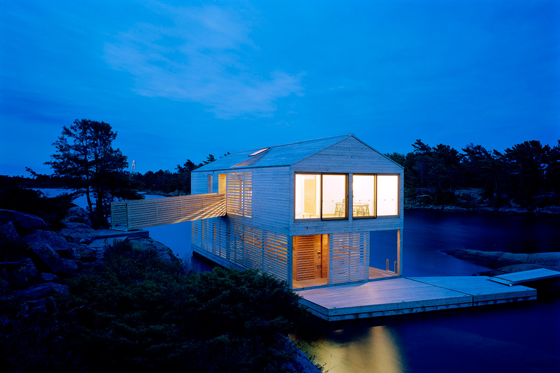 Floating House Canada Most Beautiful Houses In The World