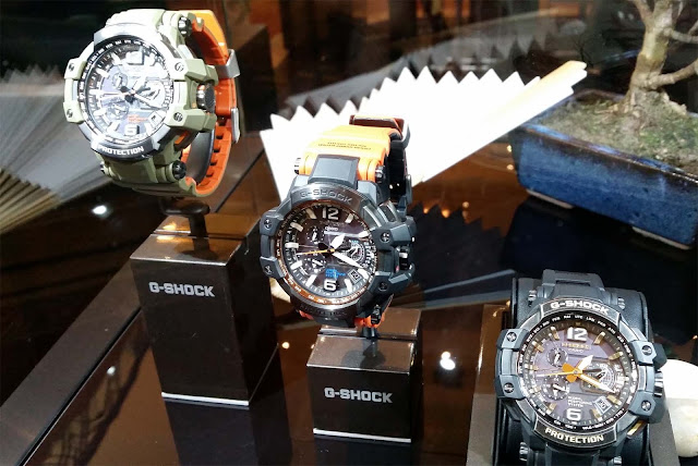 G-Shock watches, sporty, luxury