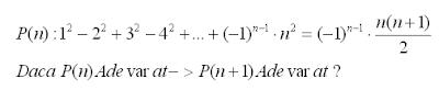 exercitii rezolvate inductie matematica