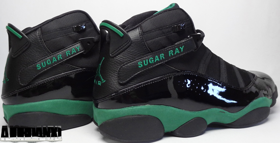 new style d9b43 4b1f4 An exclusive detailed look at this Jordan 6 Rings PE made special for Ray  Allen while he played for the Boston Celtics.