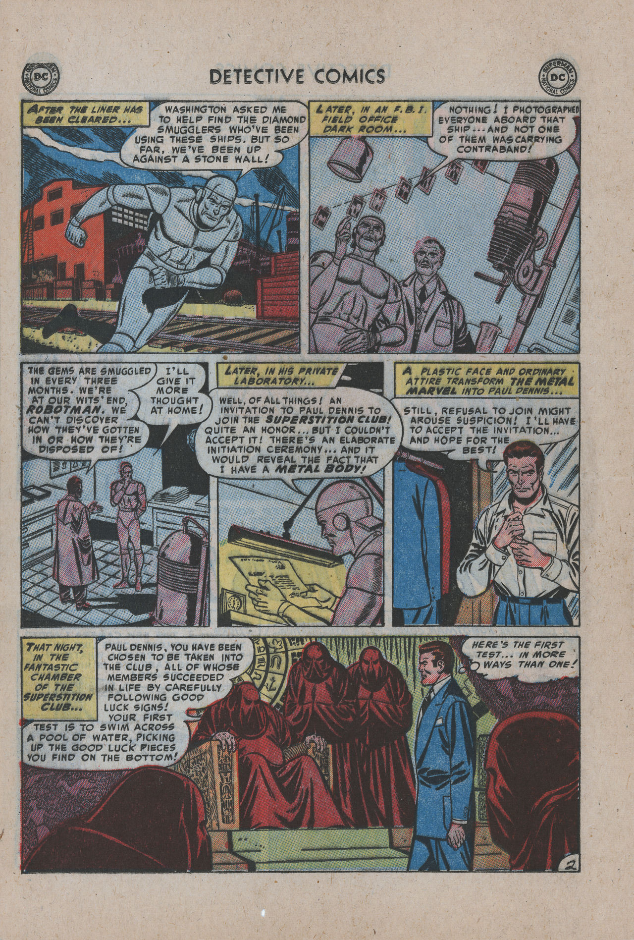 Read online Detective Comics (1937) comic -  Issue #200 - 27