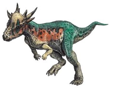 Stygimoloch Dinozoru