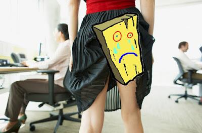 ley femenina:razon de tener las nalgas planas