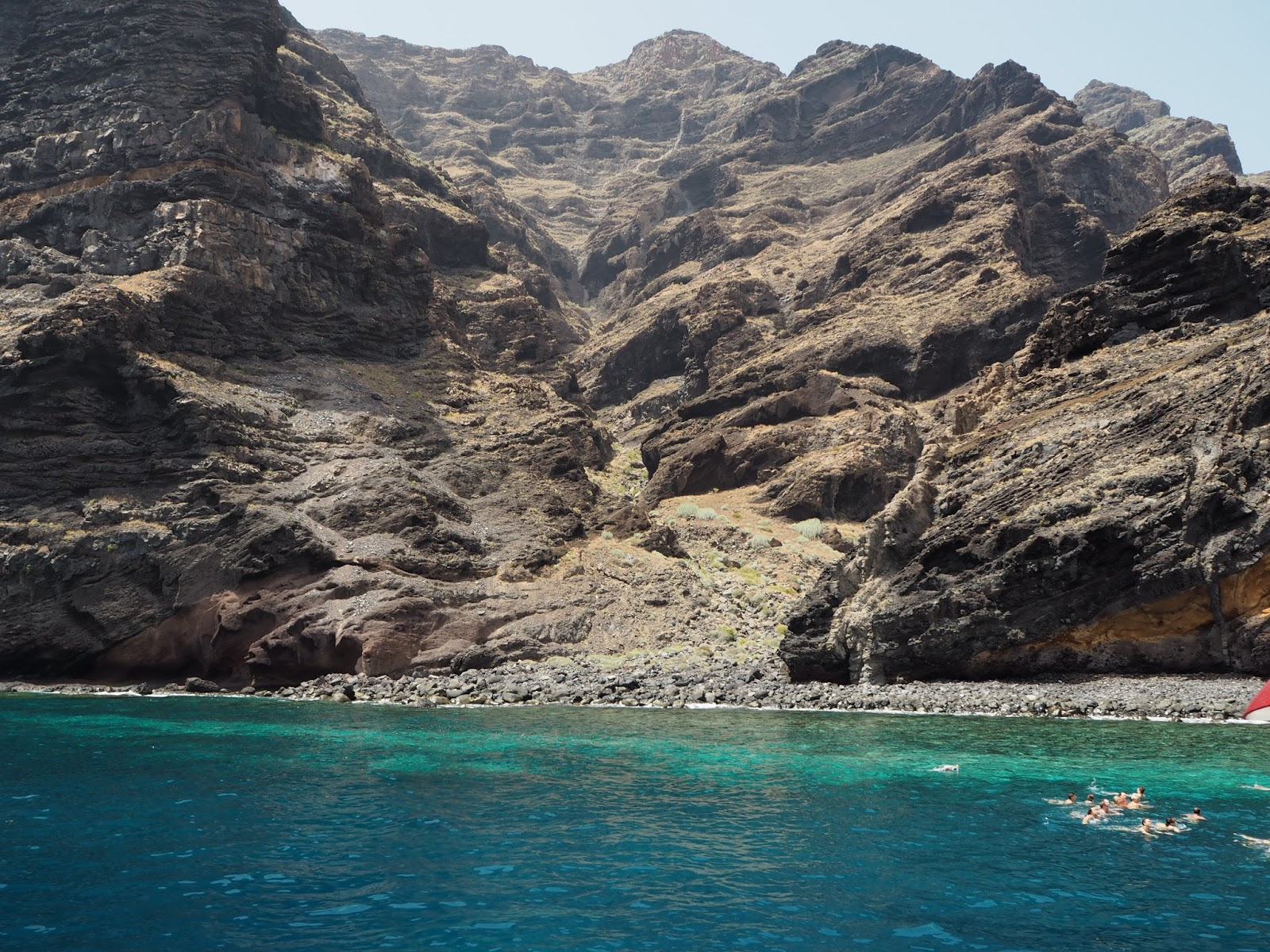 Los Gigantos cove Tenerife