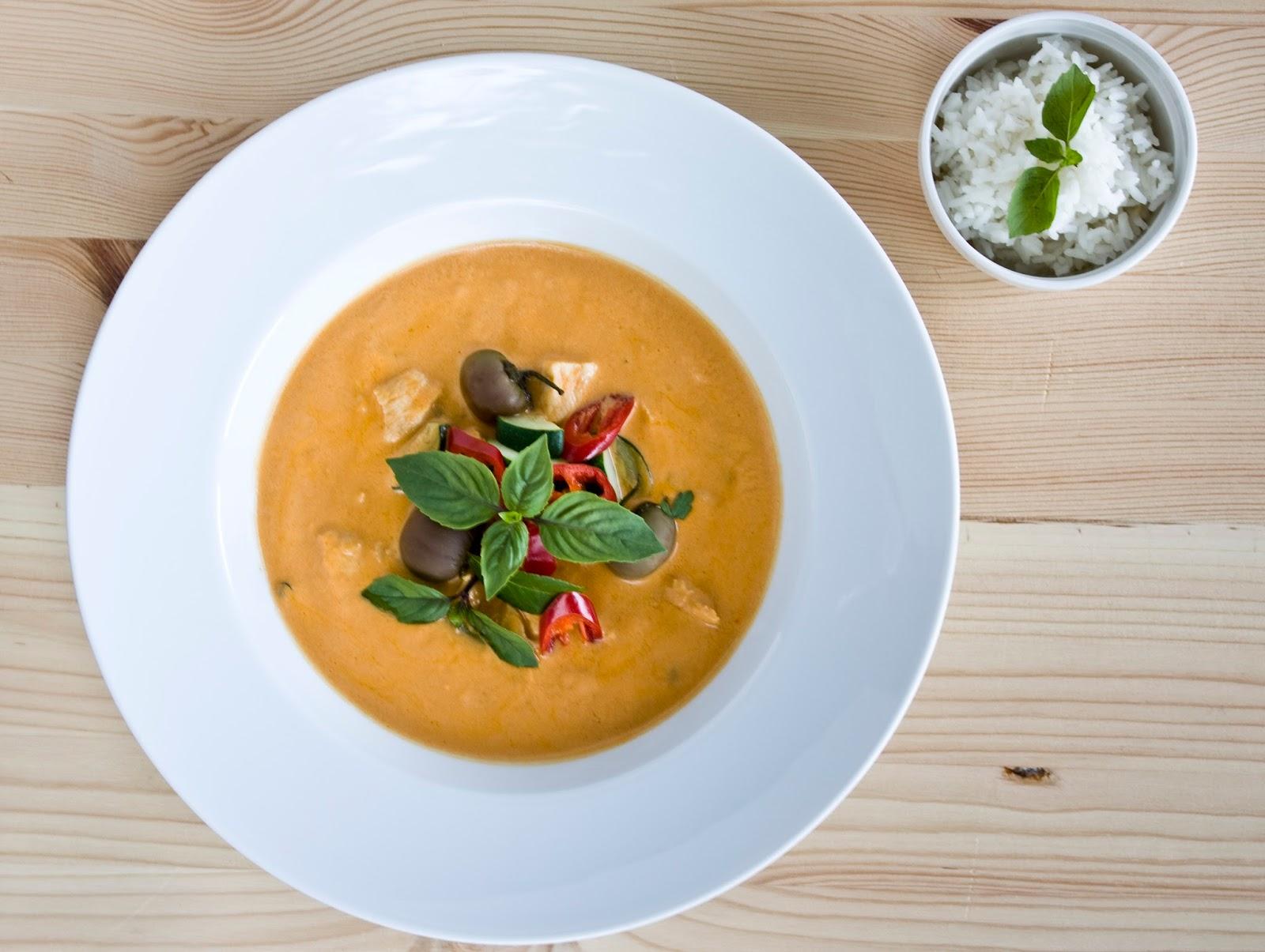 Prosty Przepis Na Czerwone Tajskie Curry Czyli Solidna