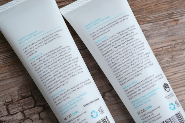 Moor Spa Botanical Shampoo and Conditioner Review